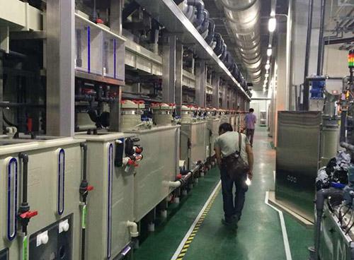 深南电路板~P.C.B设备,循环水UPVC\\PPH管路系统