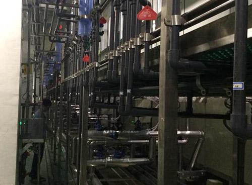 健鼎科技~废水改造UPVC管路系统